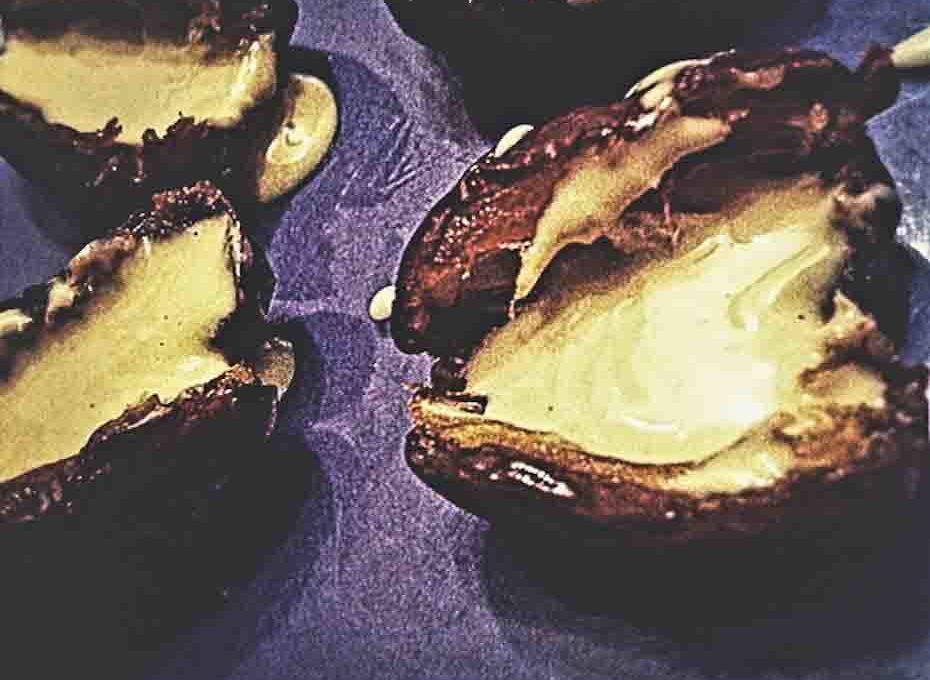 Medjool Dates stuffed with Almond Butter/Pb2